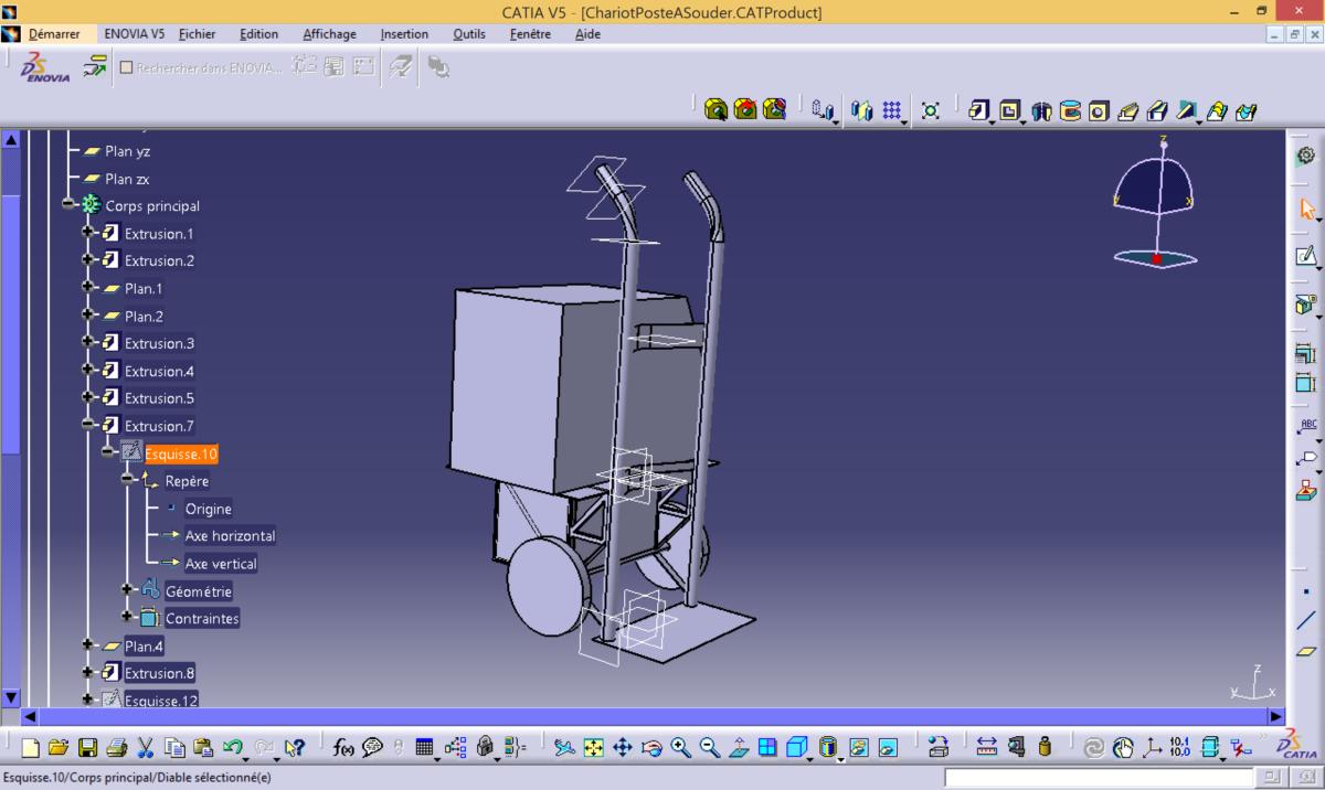 Welder cart project